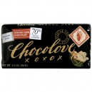 Chocolove Chocolate Bar Strong Dark with 70% Cocoa Content