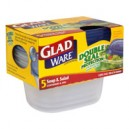 GladWare Containers Soup & Salad Medium with Lids