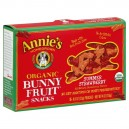 Annie's Homegrown Bunny Fruit Snacks Summer Strawberry Organic - 5 ct
