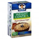 Quaker Instant Oatmeal Maple & Brown Sugar Weight Control - 8 ct