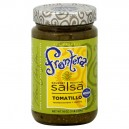 Frontera Gourmet Mexican Salsa Tomatillo Medium All Natural