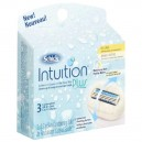 Schick Intuition Plus Razor Refill Cartridges Dry Skin with Shea Butter