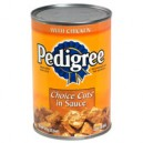 Pedigree Choice Cuts Wet Dog Food with Chicken in Sauce