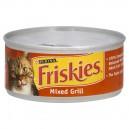 Friskies Wet Cat Food Loaf Mixed Grill