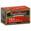 Bigelow Constant Comment Orange Rind/Spice Black Tea Bags Decaffeinated