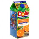 Dole 100% Orange Juice with Calcium No Pulp