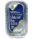 Hefty EZ Foil Loaf Pans Baby 5 X 3 X 2 Inch