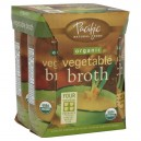 Pacific Natural Foods Broth Vegetable Organic - 4 pk