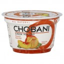 Chobani Greek Fruit on the Bottom Yogurt Peach 0% Non Fat All Natural