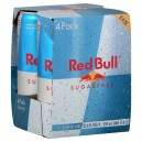 Red Bull Energy Drink Sugar Free - 4 pk