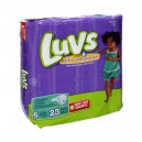 Luvs Ultra Leakguards Diapers Size 6 Both Jumbo Pack - 35+ lbs