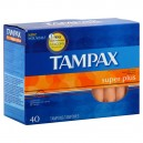 Tampax Tampons Super Plus Absorbency with Flushable Applicator