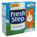 Fresh Step Scoopable Cat Litter with Baking Soda