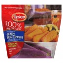 Tyson Chicken Breast Tenders Breaded Fully Cooked 100% All Natural Frozen