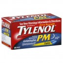 Tylenol PM Pain Reliever Nighttime Sleep-Aid Extra Strength 500 mg Caplets