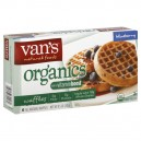 Van's Organics Waffles Blueberry with a Vitamin Boost All Natural - 6 ct