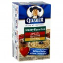 Quaker Instant Oatmeal Bakery Favorites Variety - 10 ct