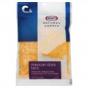 Kraft Cheese Mexican Taco Cheese Finely Shredded