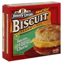 Jimmy Dean Biscuits Sandwiches Bacon, Egg & Cheese - 4 ct