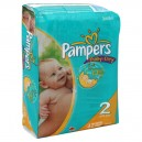 Pampers Baby-Dry Diapers Size 2 Both Jumbo Pack - 12-18 lbs