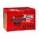 Maruchan Ramen Noodle Soup Beef Flavor - 12 ct