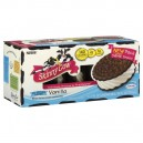 Skinny Cow Ice Cream Sandwiches Vanilla Low Fat No Sugar Added - 6 ct