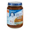Gerber 3rd Foods Nature Select Spaghetti in Tomato Sauce with Beef Dinner