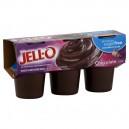 Jell-O Pudding Cups Sugar Free Chocolate - 6 ct