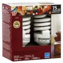 Sylvania Living Spaces Light Bulbs CFL Instant-On 20 Watt (75 Watt)