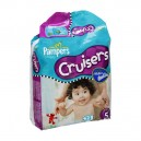 Pampers Custom Fit Cruisers Diapers Size 5 Both Jumbo Pack - 27+ lbs