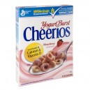 General Mills Cheerios Cereal Yogurt Burst Strawberry