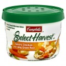Campbell's Select Harvest Soup Bowl Savory Chicken & Rice