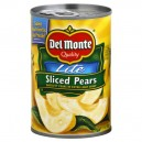 Del Monte Pears in Extra Light Syrup Sliced