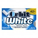 Wrigley's Orbit White Gum Peppermint Sugar Free Single Pack