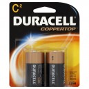 Duracell Coppertop Alkaline Batteries Size C