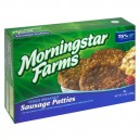 MorningStar Farms Breakfast Veggie Patties Sausage - 6 ct