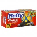 Hefty CinchSak Trash Bags Large 30 Gallon