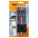 BIC Matic Grip Mechanical Pencils 0.7mm Lead Medium