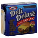 Kraft Deli Deluxe Cheese American Singles - 16 ct