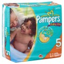 Pampers Baby-Dry Diapers Size 5 Both Jumbo Pack - 27+ lbs