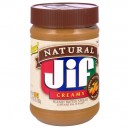 Jif Peanut Butter Creamy Natural