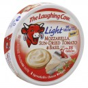 The Laughing Cow Cheese Light Mozzarella, Sun Dried Tomato & Basil - 8 ct