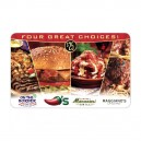 $25 Brinker Gift Card (Maggiano's, Chili's, Macaroni Grill, On The Border)