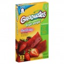 Gerber Graduates for Toddlers Fruit Strips Real Fruit Bars Strawberry - 5