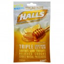 Halls Cough Drops Mentholyptus Sugar Free Honey Lemon