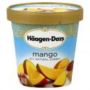 Haagen-Dazs Sorbet Mango All Natural