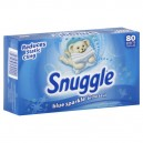 Snuggle Dryer Sheets with Fresh Release Blue Sparkle