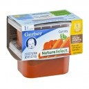Gerber 1st Foods Nature Select Carrots - 2 pk