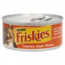 Friskies Wet Cat Food Loaf Country Style