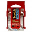 3M Scotch Packaging Tape High Performance Clear w/Dispenser 2 X 800 Inch